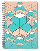 Geometric2 Spiral Notebook