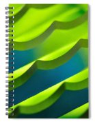 Geometrical Colors And Shapes 3 Spiral Notebook