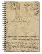 Geometrical Study About Transformation From Rectilinear To Curved Surfaces And Vice Versa From Atlan Spiral Notebook