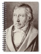 Georg Hegel  Spiral Notebook