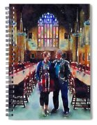 George And Chrissy At Hogwarts Spiral Notebook