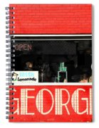 George Diner Spiral Notebook