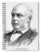 George Glyn (1824-1887) Spiral Notebook