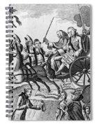 George IIi Cartoon, 1775 Spiral Notebook