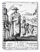 George IIi Cartoon, 1779 Spiral Notebook
