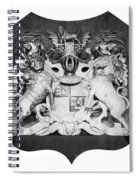 George IIi: Coat Of Arms Spiral Notebook