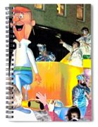 George Jetson Poster Spiral Notebook