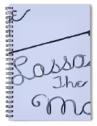 George Lassos The Moon Spiral Notebook