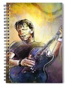 George Thorogood In Cazorla In Spain 02 Spiral Notebook