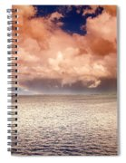 George Town-grand Cayman Rainbow After The Storm Spiral Notebook