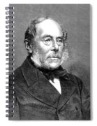 George Villers (1800-1870) Spiral Notebook