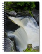 George W Childs Park Waterfall Spiral Notebook