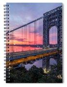 George Washington Bridge Spiral Notebook