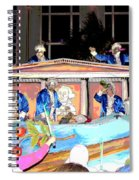 George Washington Float Side View Spiral Notebook