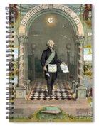 George Washington Freemason Spiral Notebook