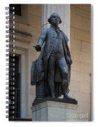 George Washington Statue Spiral Notebook