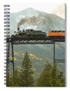 Georgetown Loop Ralroad Spiral Notebook