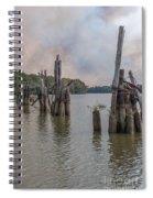 Georgetown Pilings Spiral Notebook