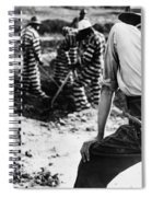 Georgia Prison Guard, 1941 Spiral Notebook