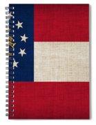Georgia State Flag Spiral Notebook