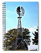Georgia Windmill Spiral Notebook