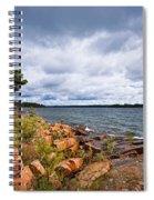 Georgian Bay Shore Spiral Notebook