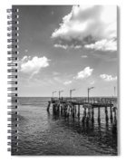 Georgia's St Simon's Island Pier Spiral Notebook