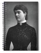 Georgina Ward (1846-1929) Spiral Notebook
