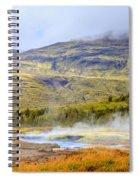 Geothermal Pools Spiral Notebook