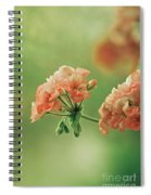 Geranium  Spiral Notebook