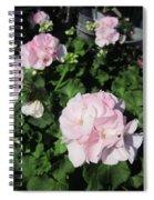 Geranium In Pink Spiral Notebook