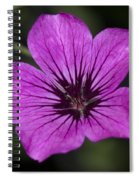 Geranium Sanguinium Spiral Notebook