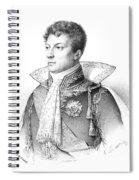 Geraud-christophe-michel Duroc, Duke De Spiral Notebook
