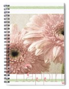Gerber Daisy Happiness 3 Spiral Notebook