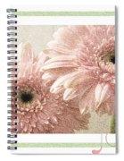 Gerber Daisy Joy 3 Spiral Notebook