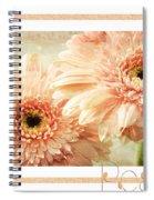 Gerber Daisy Peace 2 Spiral Notebook