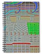 German Cityscape Spiral Notebook