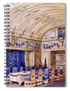 German Dining Hall, Early 20th Century Spiral Notebook