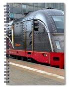 German Electric Train Munich Germany Spiral Notebook