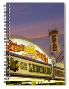 German Fries Topsfield Fair Spiral Notebook