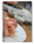 German Lunch Spiral Notebook