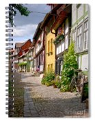 German Old Village Quedlinburg Spiral Notebook