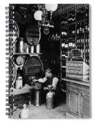 German Rathskellar 1900 Spiral Notebook