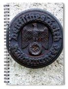 German Reich Seal Spiral Notebook