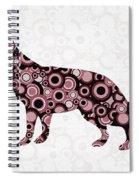German Shepherd - Animal Art Spiral Notebook