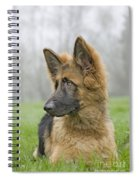 German Shepherd Puppy Spiral Notebook