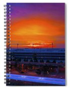 German Sunrise Spiral Notebook