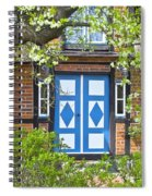 German Timber-framed Country House Spiral Notebook
