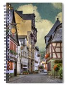 German Village Spiral Notebook
