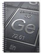 Germanium Chemical Element Spiral Notebook
